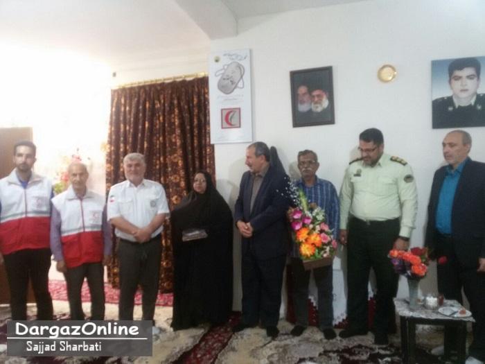 رئيس اداره بنياد شهید درگز :  دیدار با ایثارگران توفیق الهی است