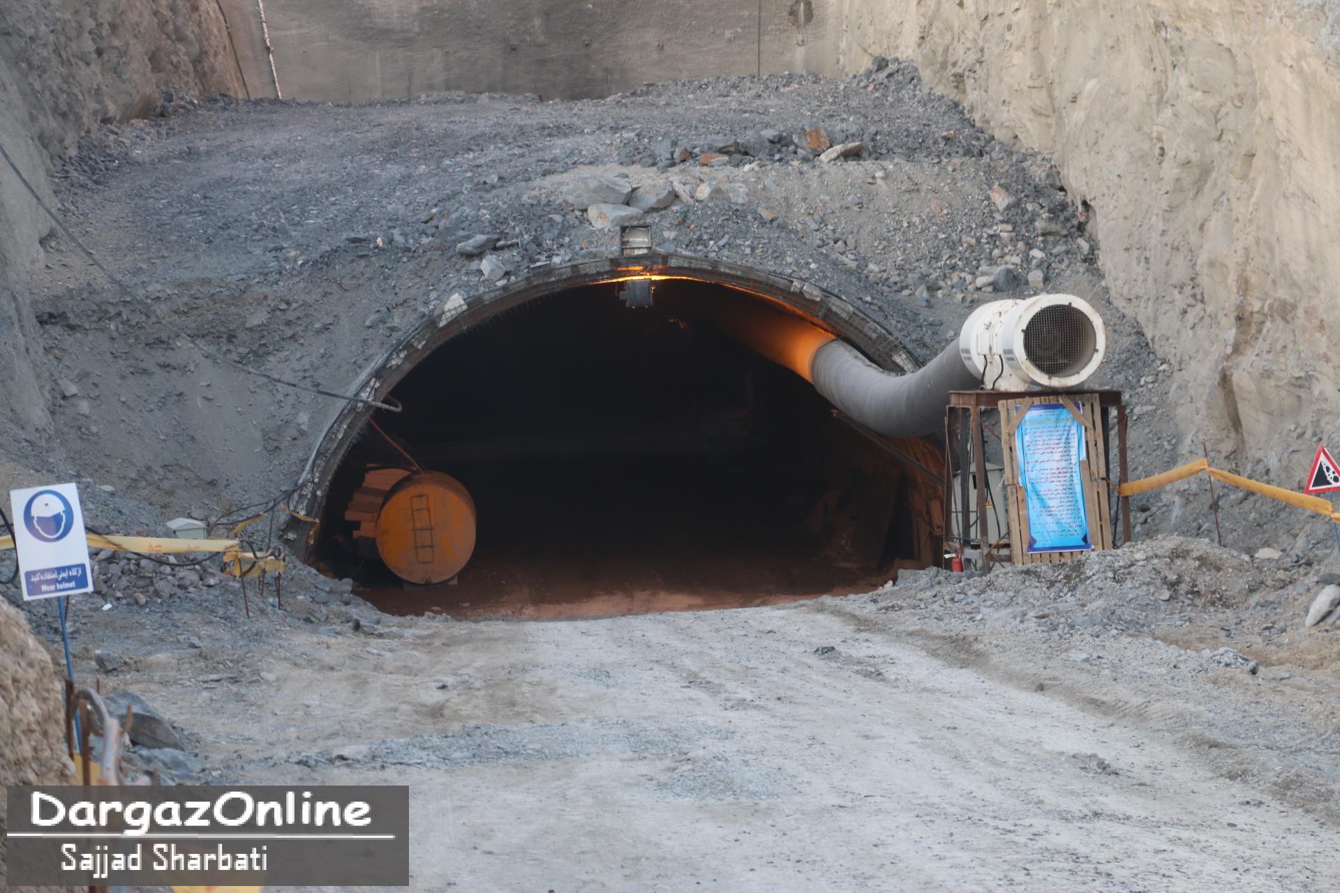 شروع به کار مجدد تونل الله اكبر درگز با در نظر گرفتن اعتبار ۴۰۰ ميليارد ريالی