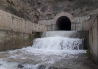 سد درونگر شهرستان درگز پس از ۸ سال سر ریز شد.