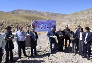 بهره برداری از پروژه های منابع طبیعی و آبخیزداری درگز در هفته دولت