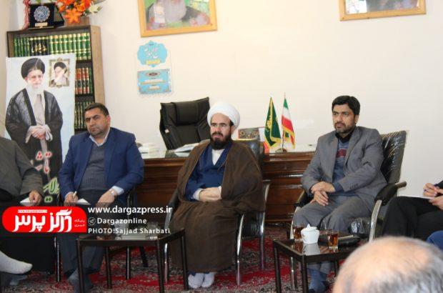 برگزاری نهمین جلسه شورای فرهنگ عمومی در محل دفتر حضور امام جمعه درگز