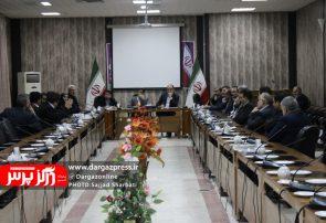 نشست فرماندار و دادستان شهرستان درگز با کاندیدهای انتخابات مجلس شورای اسلامی