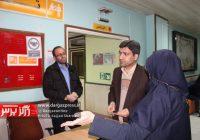 بازدید فرماندار از بیمارستان امام خمینی (ره) درگز