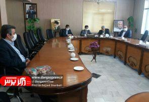مراسم تودیع و معارفه رئیس اداره امور آبفای درگز برگزار شد