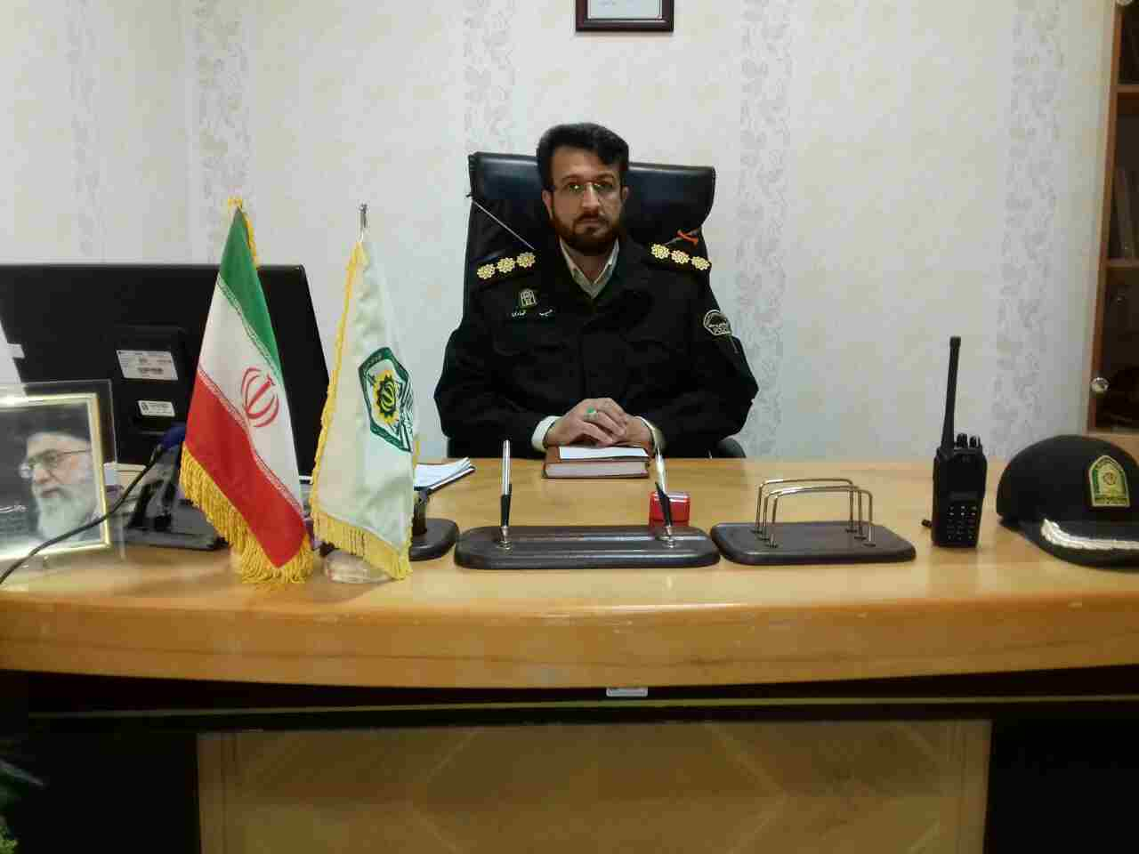 فرمانده جدید انتظامی درگز منصوب شد
