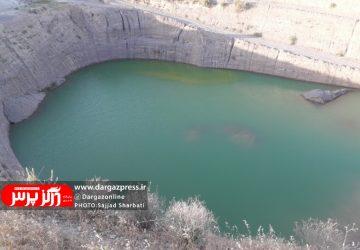 خاک برداری و گودبرداری بیش از حد موجب بالا آمدن آب های زیرزمینی در دو کارگاه تولید شن و ماسه در درگز شد