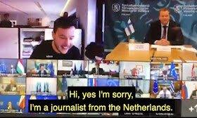 نفوذ خبرنگار هلندی به نشست ویدئویی و محرمانه وزرای دفاع اتحادیه اروپا