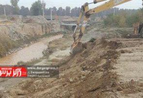 آزادسازی ۱۵ هکتار از اراضی حریم رودخانه در شهرستان درگز