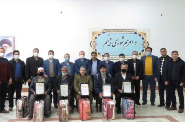 آیین نکوداشت و تجلیل از بازنشسته سال ۹۹ شهرداری درگز برگزار شد