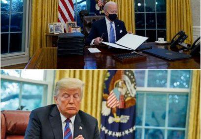 بایدن : ترامپ نامهای «بسیار سخاوتمندانه و بلندنظرانه» برایم گذشته اما قصد ندارم محتوای آن را فاش کنم