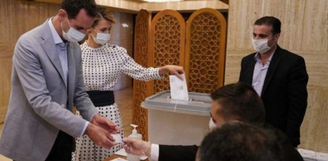 اسد و همسرش به کرونا مبتلا شدند