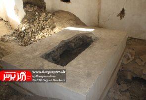 نبش قبر یک امامزاده در درگز
